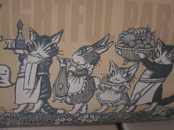 わちふぃーるど ダヤン パーティの準備長財布 猫_画像2