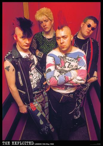 The Exploited London 1982 限定 特大ポスター 正規品 hardcore punk