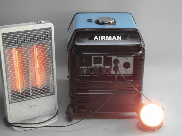 AIRMAN□ インバーター□発電機□HP2800SV_画像2
