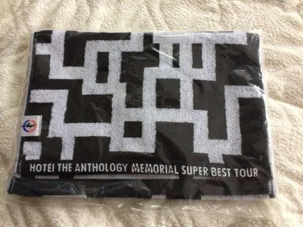 ☆布袋寅泰 G柄フェイスタオル HOTEI THE ANTHOLOGY MEMORIAL SUPER BEST TOUR 未使用☆ ライブグッズの画像