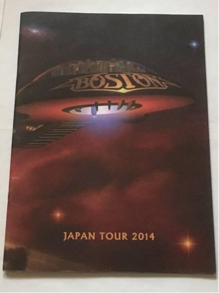 ◆◇ツアーパンフレット BOSTON JAPAN TOUR 2014 来日公演 コンサート ボストン◇◆