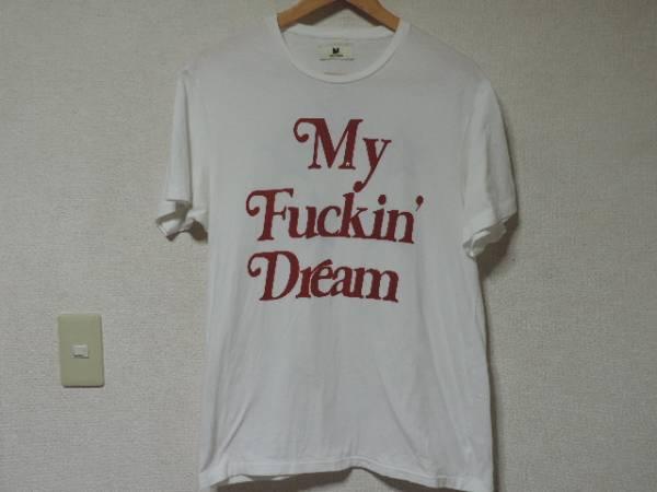 UVERworld TAKUYA 着 M エム my fuckin'dream Tシャツ 白 L