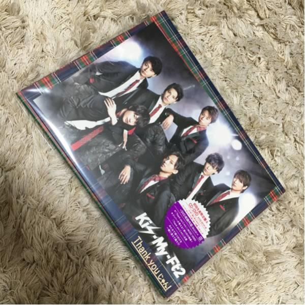 Kis-My-Ft2 CD Thank youじゃん!初回限定盤A(CD+DVD)