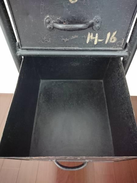 journal standard Furniture チェスト 棚 ジャーナルスタンダード GUIDEL 3 DRAWERS CHEST 黒 ヴィンテージ インダストリアル ACME_画像2