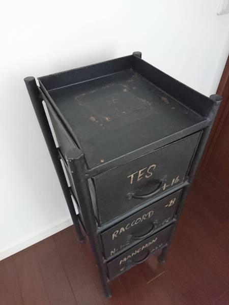 journal standard Furniture チェスト 棚 ジャーナルスタンダード GUIDEL 3 DRAWERS CHEST 黒 ヴィンテージ インダストリアル ACME_画像3