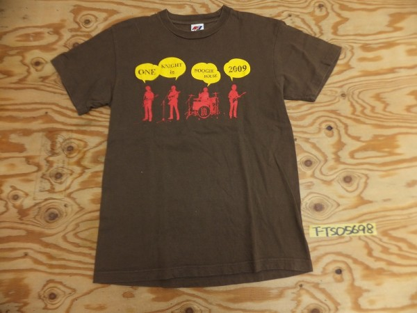 MATFIA'S ONE KNIGHT in BOOGIE HOUSE 2009 山崎まさよし ライブツアー Tシャツ メンズ S ライブグッズの画像