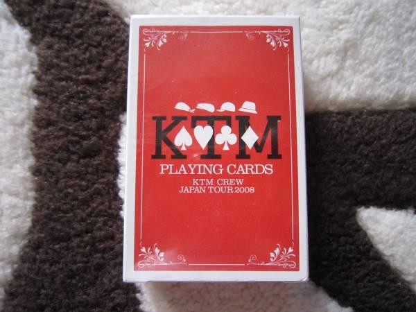 ケツメイシ:KTMツアーグッズ トランプ ライブグッズの画像
