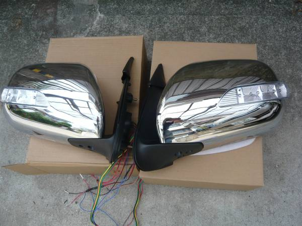 ハイエース200 LEDドアミラー