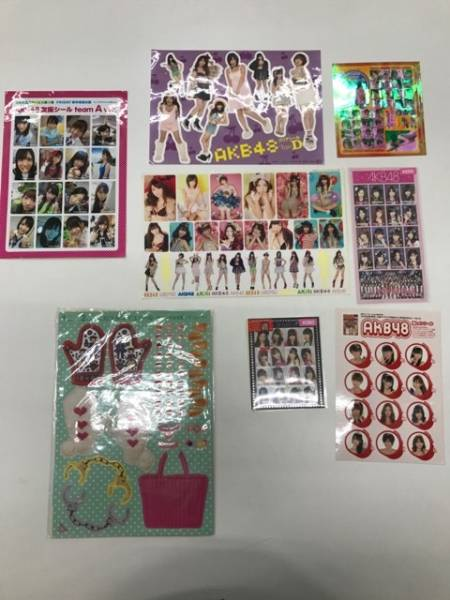 AKB48 グッズ シール おまとめ カスタマイズシール 等