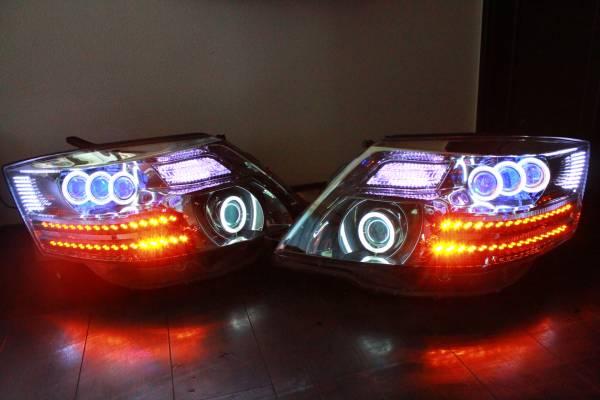 10系 アルファード ヘッドライト LS600ブルーアイ 流れるウインカー対応