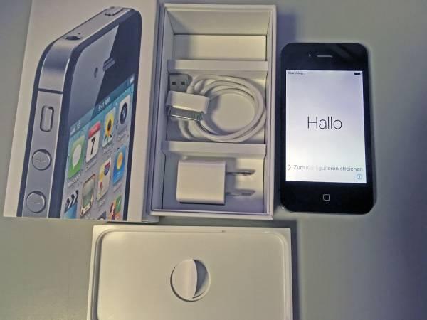 【美品】iPhone 4s 64GB Softbank 黒 元箱有り Transactions only in Japan