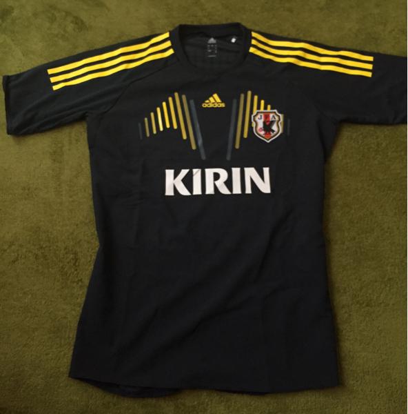 非売品 adidas JFA サッカー日本代表 選手支給品 トレーニングシャツ Mサイズ グッズの画像