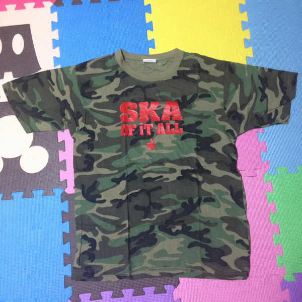 SKA OF IT ALL Tシャツ Oi-SKALLMATES kemuri POTSHOT GELUGUGU scafull king RUDEBONES DUCK MISSILE YOUNG PUNCH バンドT レア