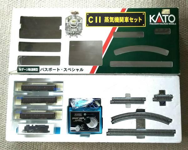 KATO☆10-006☆パスポート・スペシャル☆C11 蒸気機関車セット☆Nゲージ鉄道模型☆クローゼットに眠っていました