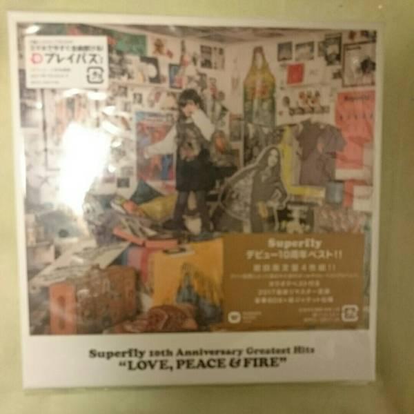 Superfly 10th Anniversary greatest hits 初回限定盤 新品 ライブグッズの画像