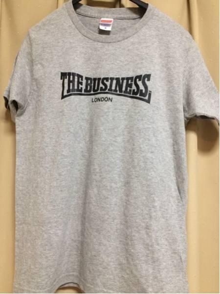 THE BUSINESS 半袖Tシャツ Sサイズ Oi PUNK Skins LAST RESORT Sham 69 UK SUBS LONSDALE GAUZE GISM SOB
