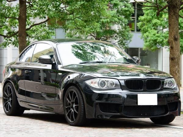 BMW 135i クーペ 7AT 平成22年 後期型iDrive ワイドHDDナビ 車検長い 平成30年4月迄 オリジナルマフラー_end.cc製1Mフロントバンバー