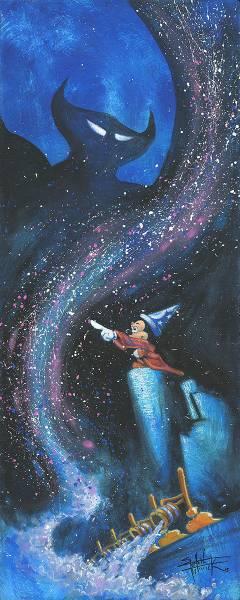 Disney Fine Art ディズニーファインアート ミッキーマウス ファンタジア 限定 レア