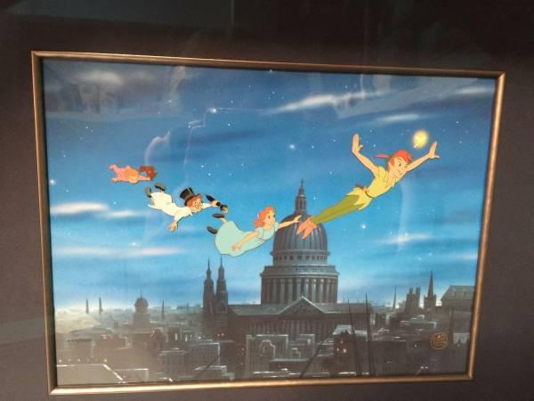 ディズニー ピーターパン 原画 セル画 限定 レア Disney 入手困難 ディズニーグッズの画像