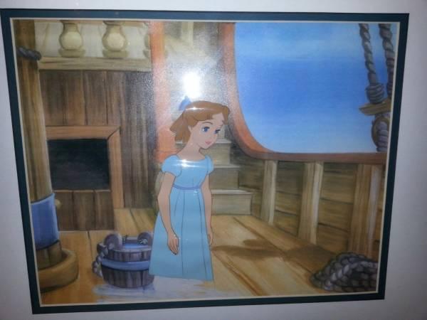 ディズニー ピーターパン ウェンディ 原画 セル画 限定 レア Disney 入手困難 ディズニーグッズの画像