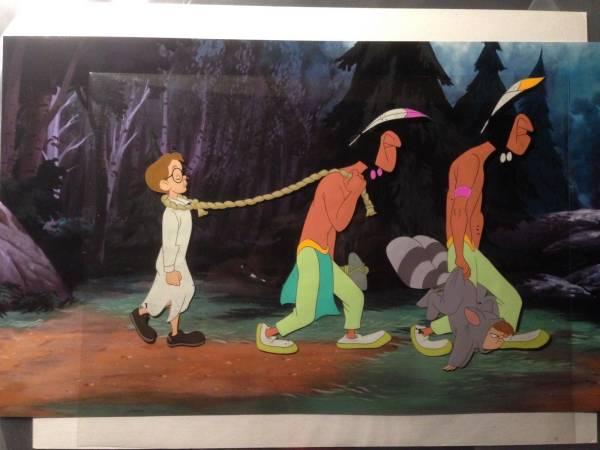 ディズニー ピーターパン ジョンダーリング 原画 セル画 限定 レア Disney 入手困難 ディズニーグッズの画像