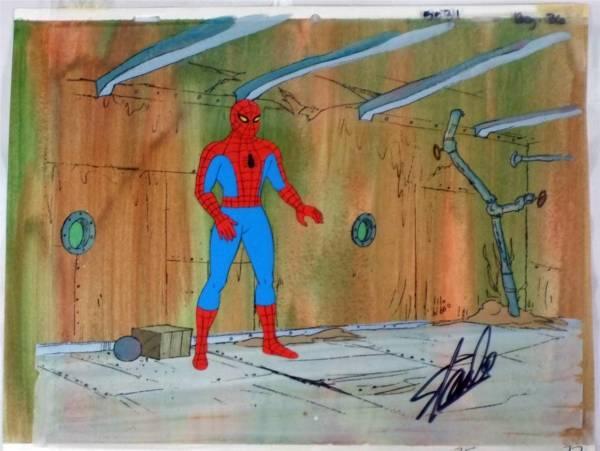 Marvel マーベル スパイダーマン 原画 セル画 限定 レア Disney 入手困難 グッズの画像