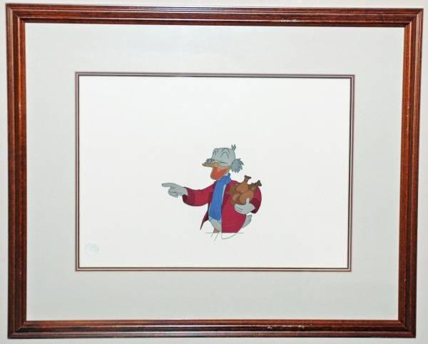 ディズニー ドナルドダック クリスマスキャロル 原画 セル画 限定 レア Disney 入手困難 ディズニーグッズの画像
