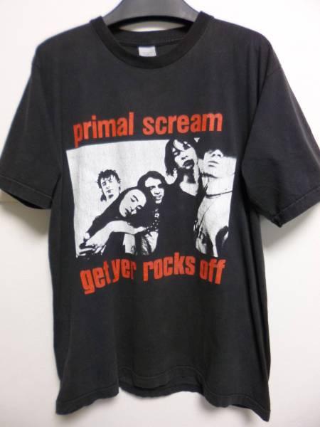 90s プライマルスクリーム PRIMAL SCREAM ヴィンテージT Primal Scream 検マイブラ ストーンローゼス オアシス レディオヘッド