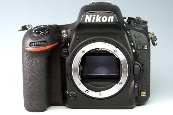【美品】Nikon ニコン D750 ボディ☆FX機★ショット数7234回