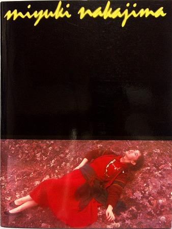 中島みゆき パンフレット 89「野ウサギのように」 コンサートグッズの画像