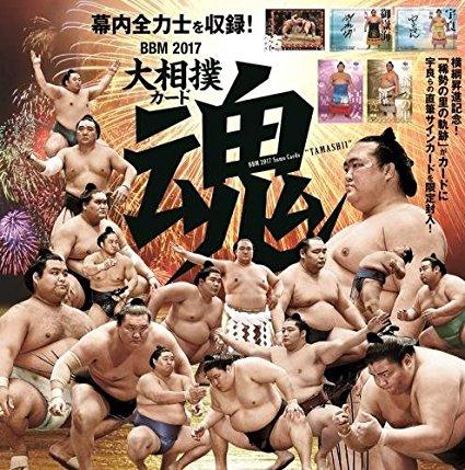【17 BBM】 大相撲カード 魂 81種レギュラーカードコンプリートセット グッズの画像