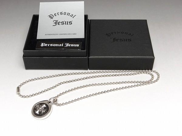 氷室京介 PERSONAL JESUS Small Silver Cross PJー007ペンダント 2008年製 送料無料! 詳細画像を追加しました。