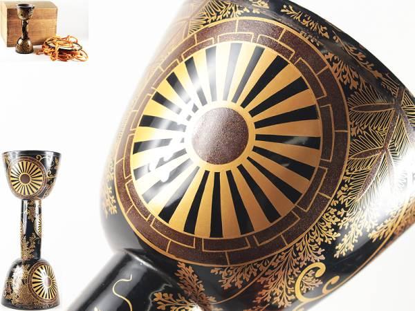 時代 最高級 金蒔絵 片輪車 松草文 小鼓胴 在銘皮 小鼓箱付 和楽器 能楽 雅楽 蔵出し 初