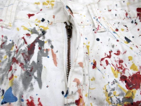 ラルフローレン RALPH LAUREN パンツ ショート デニム プリント 27 白 ホワイト 国内正規品 レディース_画像4