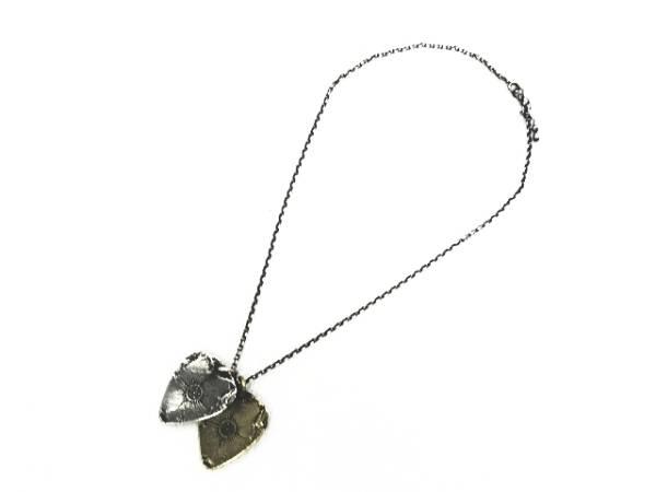 タウジャン TAUJAN コラボ pulse-14 プルス 脈 ピック ネックレス ブレス シルバー メンズ レディース_画像3
