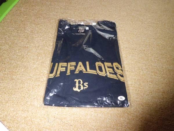 新品未使用 オリックス バッファローズ Tシャツ XL 黒 グッズの画像