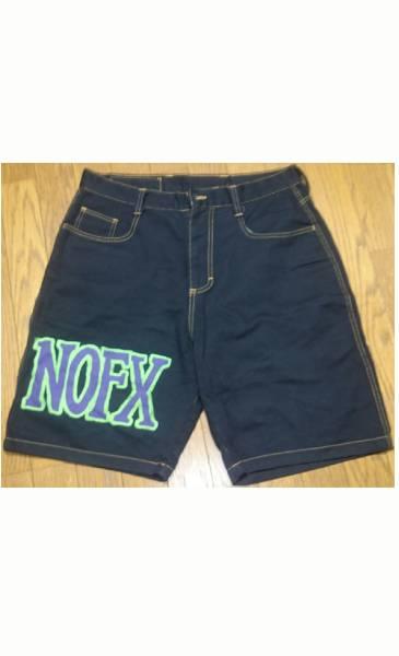 NOFX ハーフパンツ 90s 80s ノーエフ Fat Wreck Chords Epitaph パンク ハードコア PUNK Hardcore ska