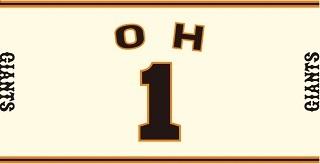 6/14 ジャイアンツ 巨人 先着来場者1万人配布・王貞治本塁打世界記録樹立40周年企画 特製タオル パンフレット付き グッズの画像