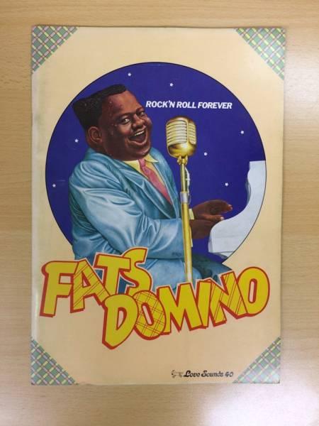 FATS DOMINO ファッツ・ドミノ 1974年 日本公演 ツアー パンフ R&B ロック
