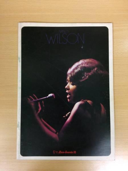 NANCY WILSON ナンシー・ウイルソン 1972年 日本公演 ツアー パンフ ジャズ