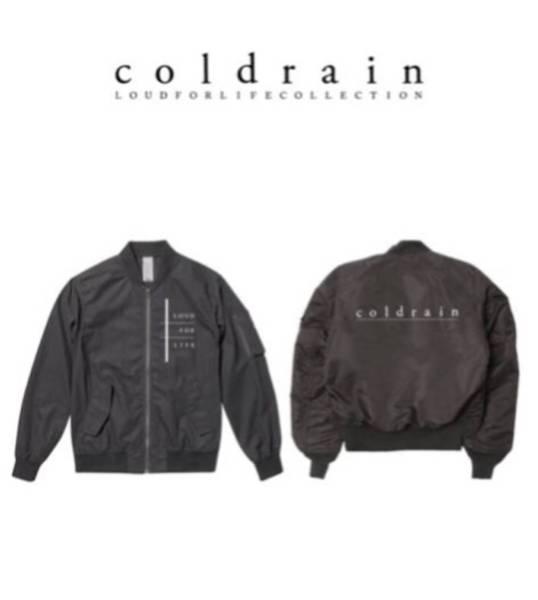 【完売】coldrain MA-1 Lサイズ新品未開封/パーカー、Tシャツ タオル SiM、CROSSFAITH、ONE OK ROCK、MY FIRST STORY ROTTENGRAFFTY