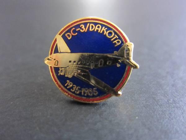 DC-3■50周年記念■Dakota 1935-1985■ピン■マクダネル・ダグラス■ヴィンテージ