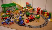 レゴ LEGO デュプロ duplo トーマス 動物園 おおきなトラクター+アンパンマン ブロック アルファベット