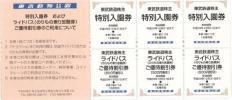 東武動物公園特別入園券(株主ご優待券)ほか 有効期限:29年