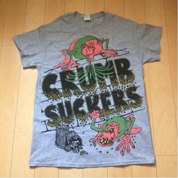 CRUMBSUCKERS オフィシャル M クラムサッカーズ crossover nyhc 80s hardcore