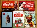 廣告品, 新奇品 - A-11 送料¥178 ブリキ看板  コカコーラ アイスコーラ等5枚
