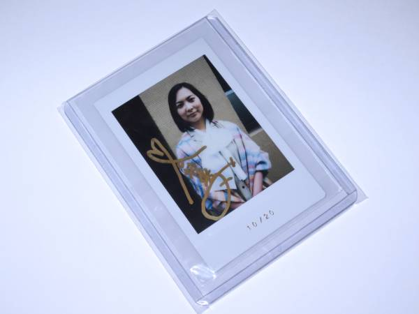 エポック 谷村美月 20枚限定 1of1 直筆サイン入り生チェキ 10/20 グッズの画像