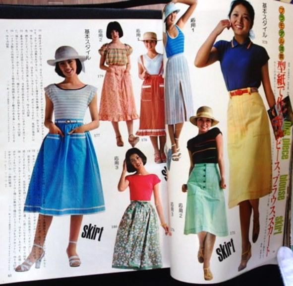 #!!古雑誌○○表紙>林寛子◆「ドレスメーキングのジュニアスタイル」◆創刊号1976/6夏◆鎌倉書房:刊◆_画像3