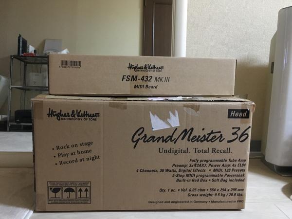 美品 hughes&kettner grandmeister36 FSM-432 MK3&キャリングケース付き 中古