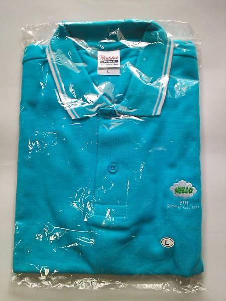 新品 YUI 2011 夏フェス限定 ポロシャツ Lサイズ FLOWER FLOWER